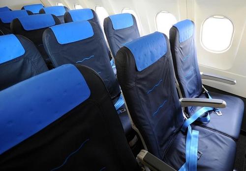 Croatia Airlines A320 cabin  Picture: Facebook/Croatia Airlines