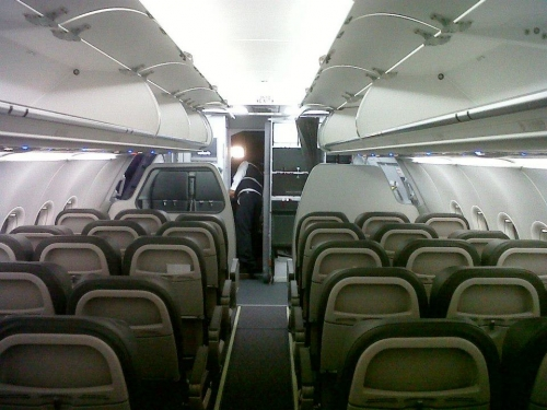 Volaris A320 cabin Picture: Facebook/Volaris
