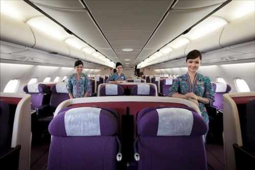 Malaysia Airlines Business Class on the A380  Picture: Malaysia Airlines