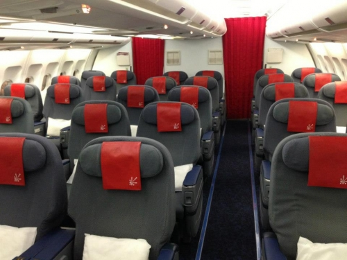 Air Greenland 'C' or Business Class on the A330  Picture: Facebook/ Air Greenland