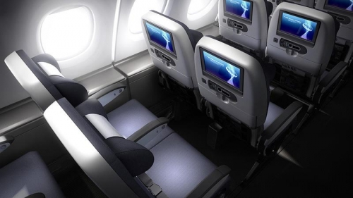 British Airways new Economy Class on the A380