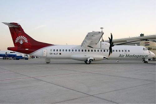 Air Madagascar ATR 72  Picture: Konstantin von Wedelstaedt/commons.wikimedia.org