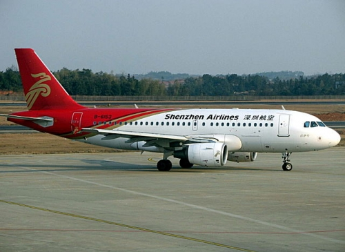 Shenzhen Airlines A320  Picture: Micah Sittig/ commons.wikimedia.org/originall source flickr as Shen