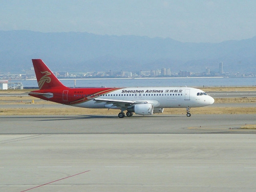 Shenzhen Airlines A320  Picture: User:STB-1/commons.wikimedia.org