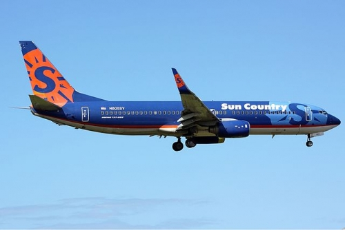 Sun Country Airlines 737-800  Picture: Luis David Sanchez/commons.wikimedia