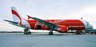 AirAsia A320  Picture: Andy Mitchell/commons