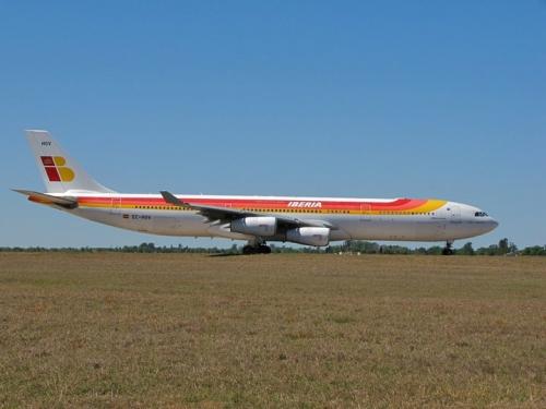 Iberia A340  Picture: Facebook/Iberia