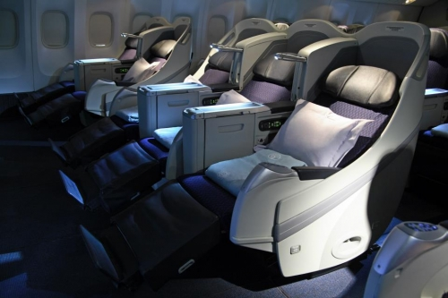 Aeromexico long haul Business Class  Picture: Facebook/Aeromexico