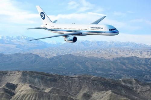 Turkmenistan 757-200  Picture: Facebook/Turkmenistan Airlines