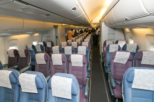 Caribbean Airlines 767 Economy Class  Picture: Facebook/Caribbean Airlines