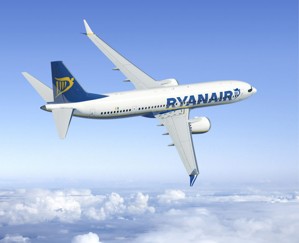 Ryanair MAX8 increased order