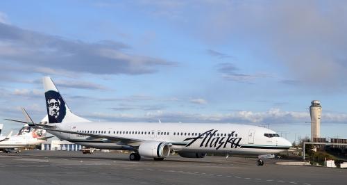 Alaska Airlines 737-900  Picture: Facebook/Alaska Airlines