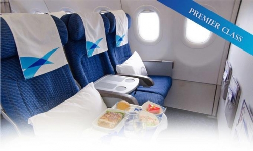 Bangkok Air Premier Class on the A319  Picture: Facebook/Bangkok Air