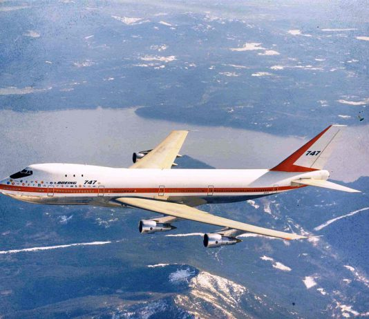 747 first flight