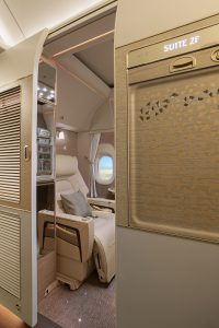 Emirates B777 new first class