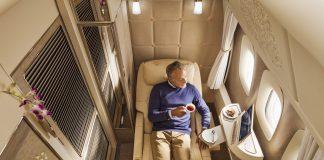 Emirates first B777 first class