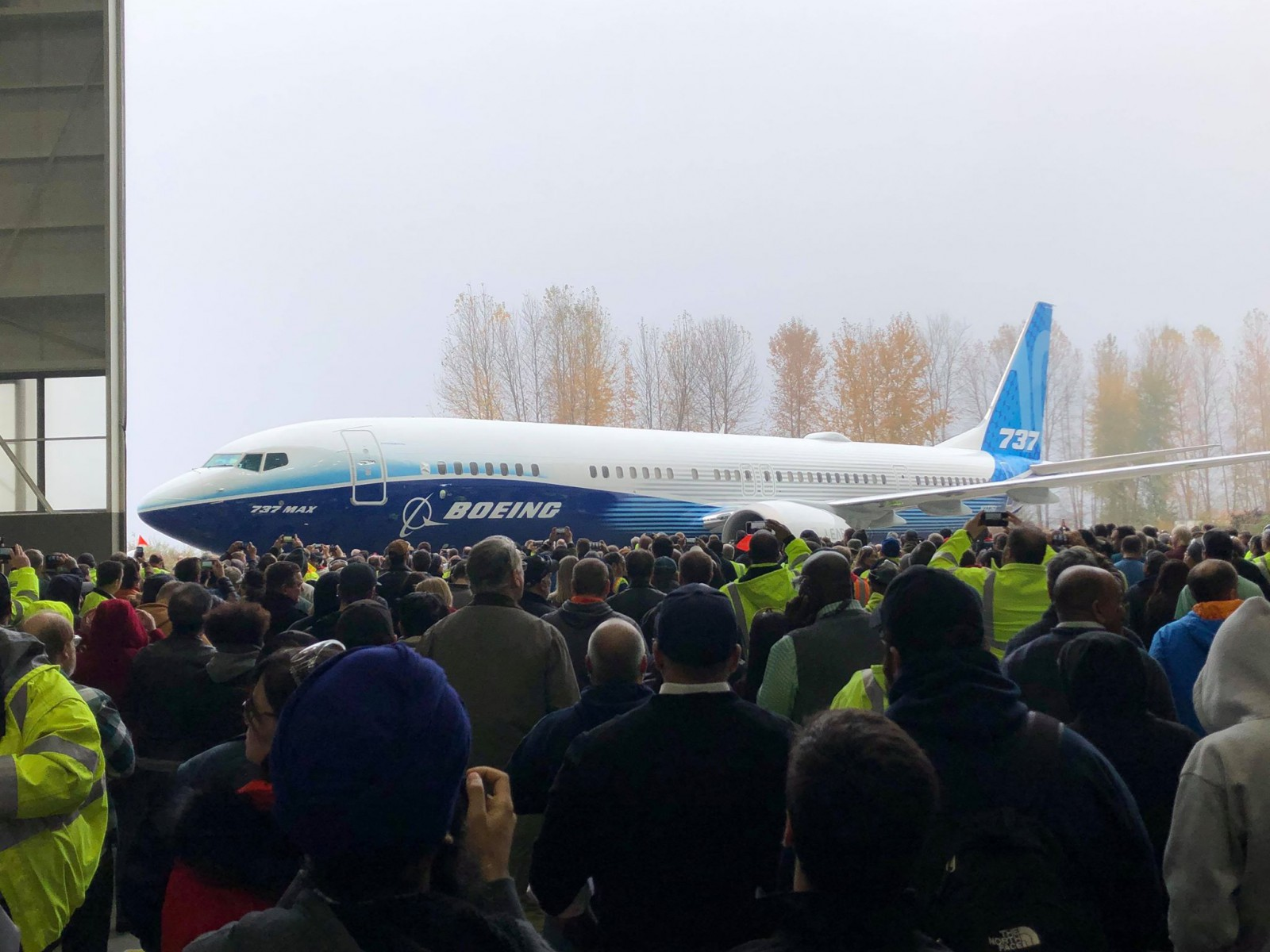 Boeing debuts 737 Max 10 in Washington