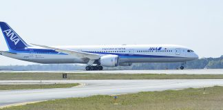 ANA 787-10 above average