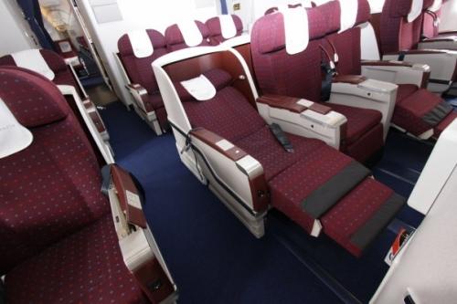 Kenya Airways Business Class on the 777  Picture: Facebook/kenya Airways