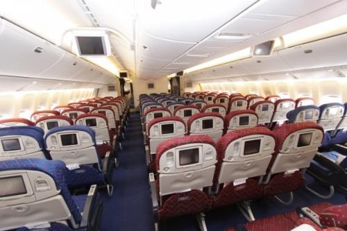 Kenya Airways Economy Class on the 777  Picture: Facebook/kenya Airways