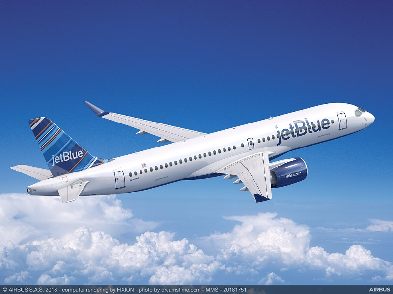 JetBlue A220 order 60 aircraft