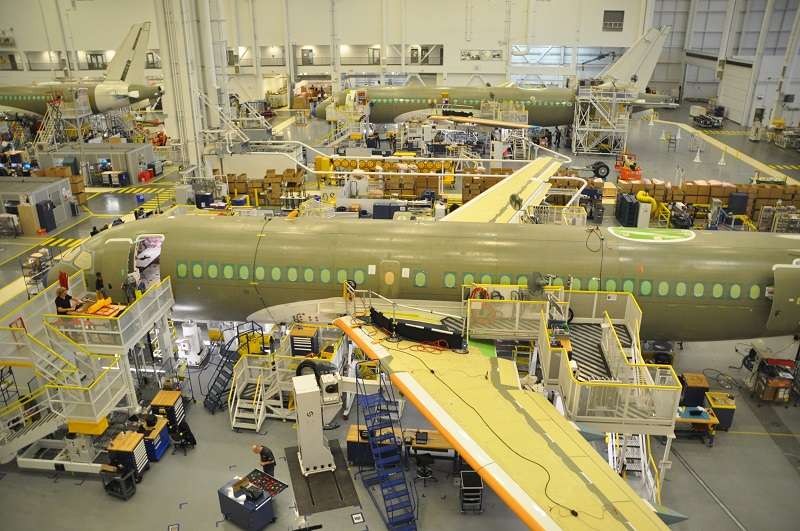 A220 Montreal production Atlantic