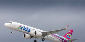 Airkia A321LR launch customer