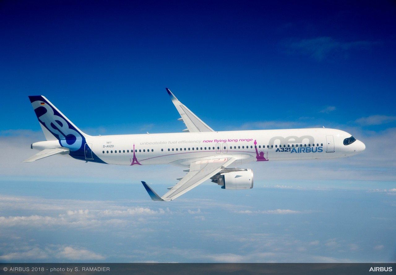 A321neoLR gets tanked up for the long flights - Airline Ratings