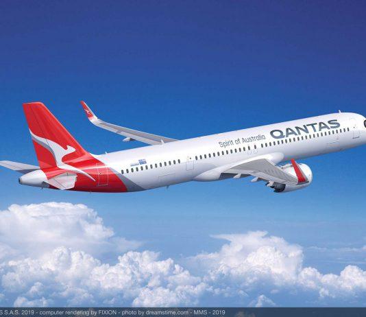 Qantas A321XLR Airbus