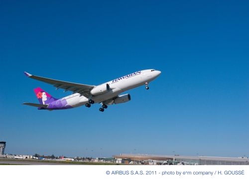 Hawaiian new A330  Picture: Hawaiian/Airbus