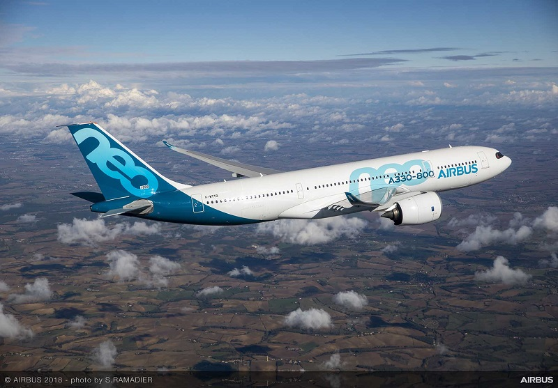 Airbus A330-800 receives joint US-European certification - Airline Ratings