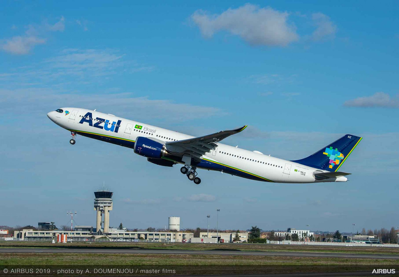 Azul A330neo first Americas