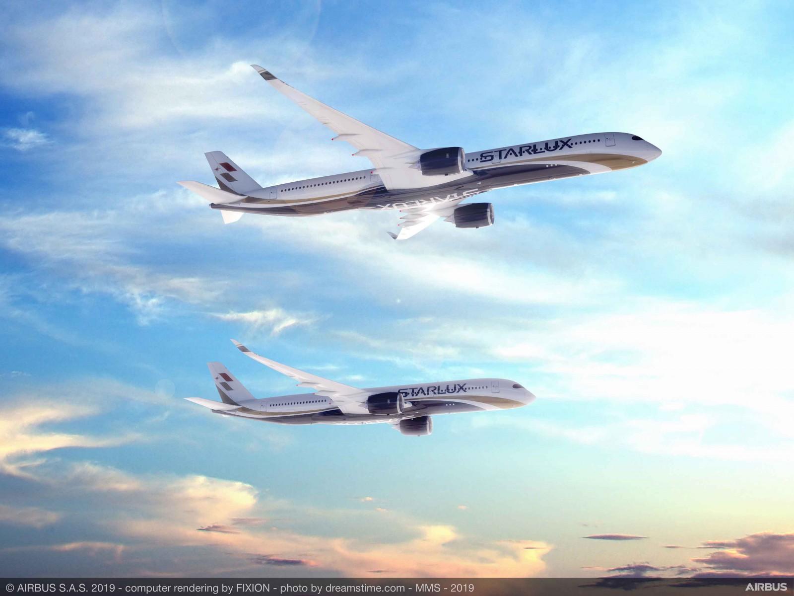 StarLux A350 order