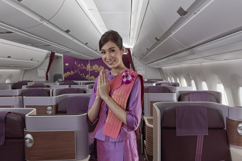 Thai A350 network Melbourne