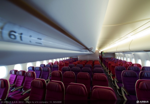 Malaysia Airlines Economy Class on the A380  Picture: Airbus/Malaysia Airlines