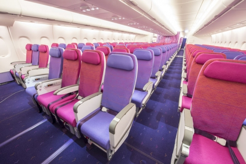 Thai airways Economy Class Picture:Thai Airways