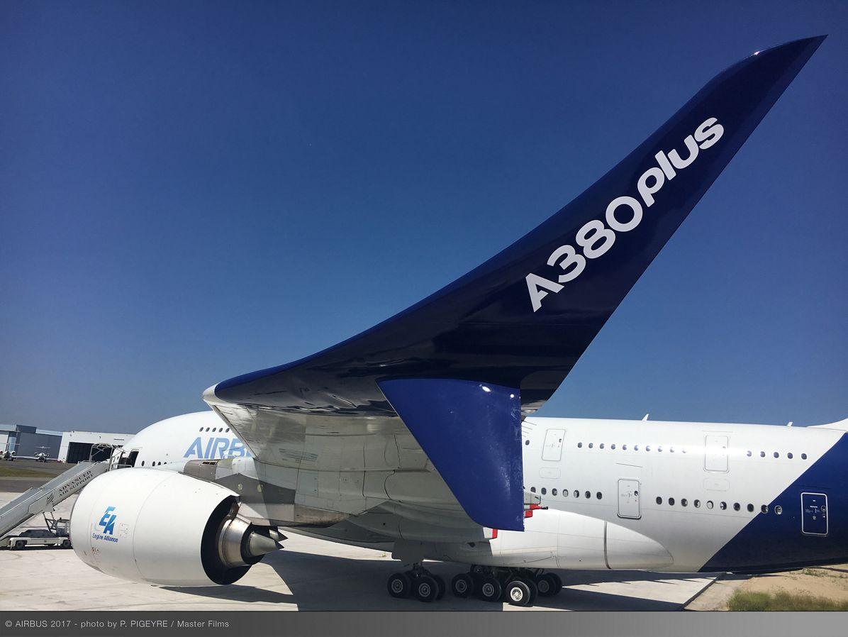 A380 decade service winglets