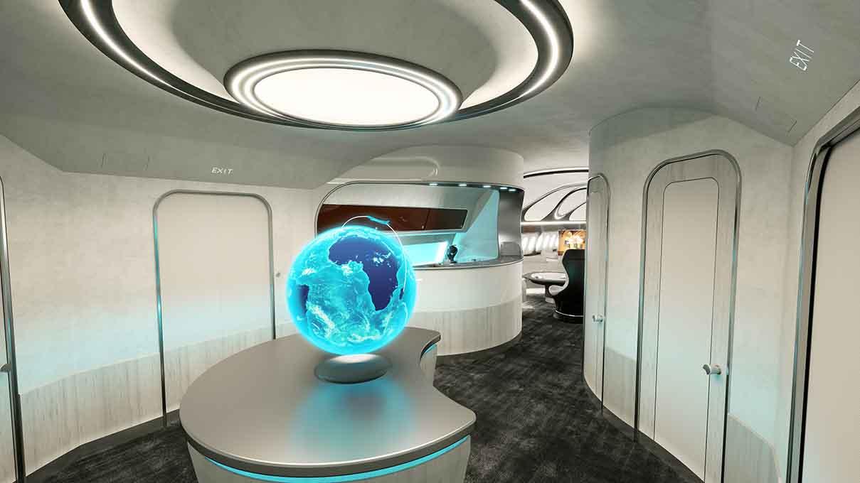 Airbus harmony cabin thrill