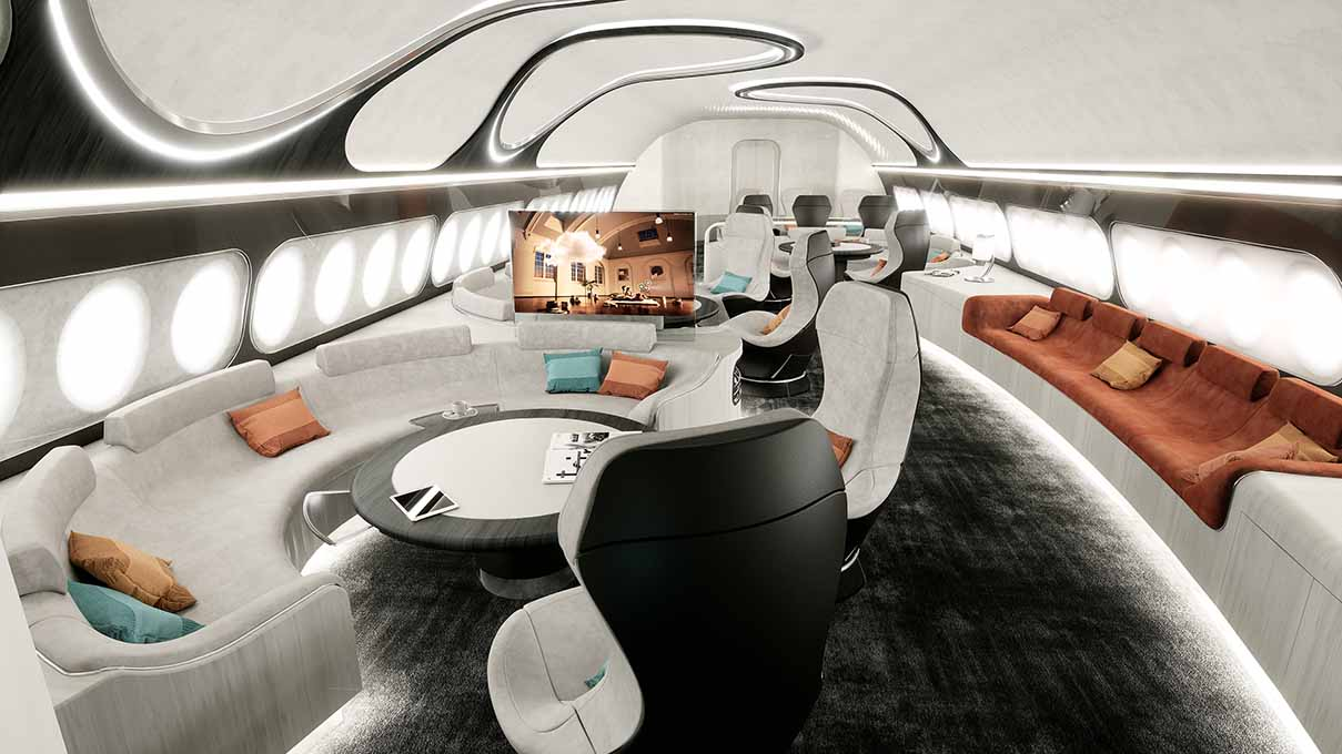 Airbus thrill harmony cabin