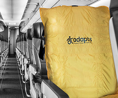 ADAPTS evacuate plane diabled passenger