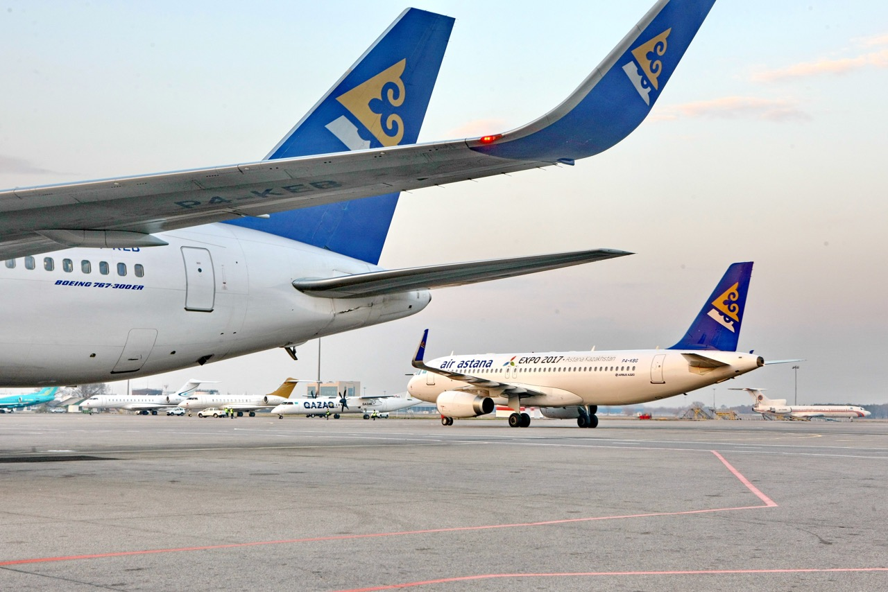 Air Astana Lufthansa growth