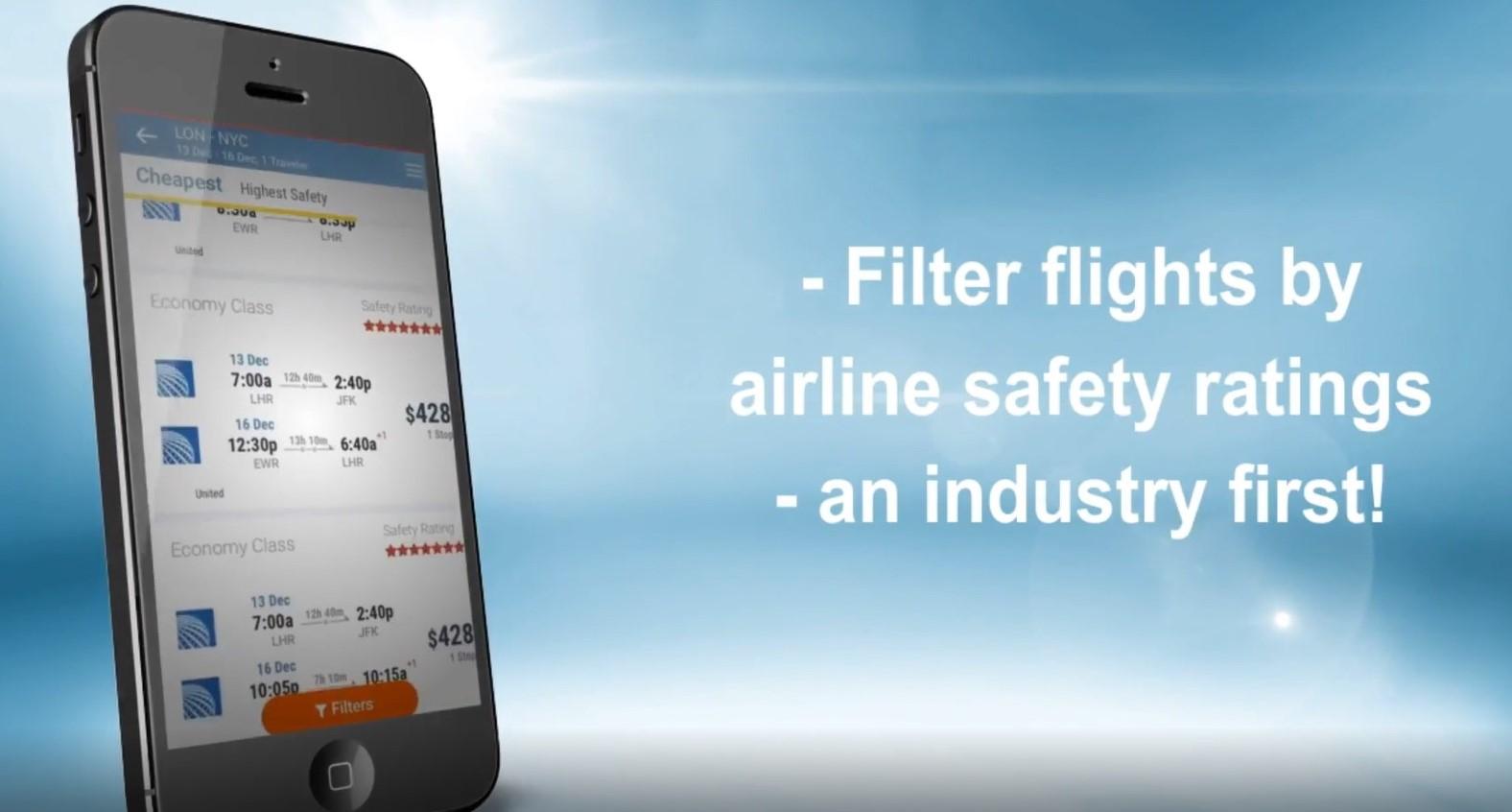 AirlineRatings.com exciting new app