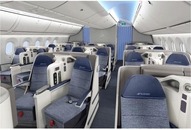 Air Europa 787 business class