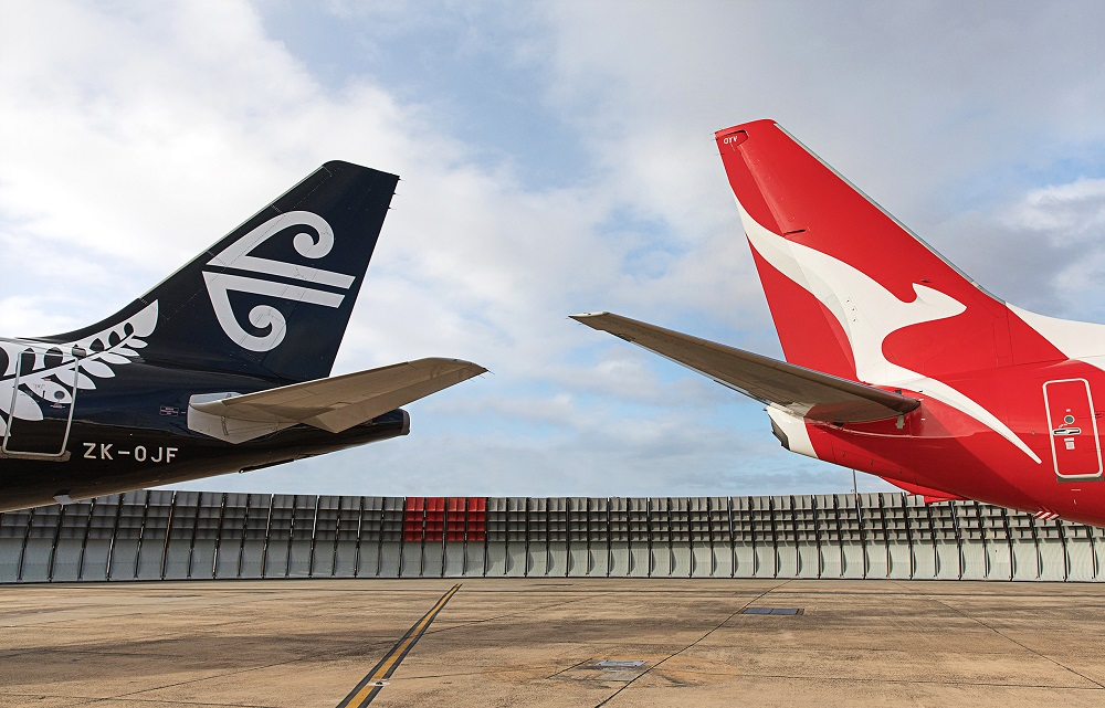 Air New Zealand Qantas codehare