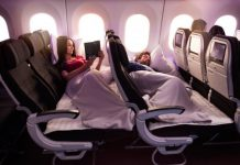 Air New Zealand Economy Stretch
