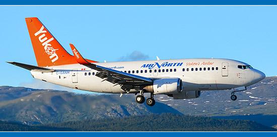 Air North Yukon 737-500 Aircraft