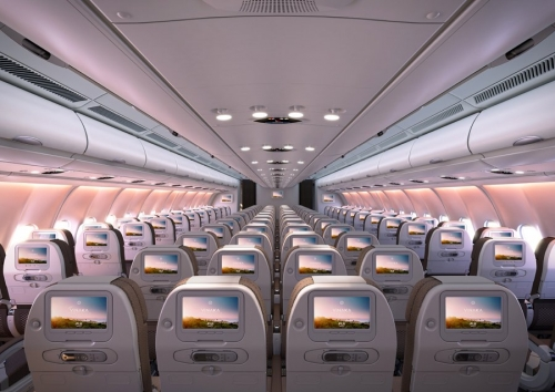 New Fiji Airways Economy Class on the A330 Picture: Air Pacific