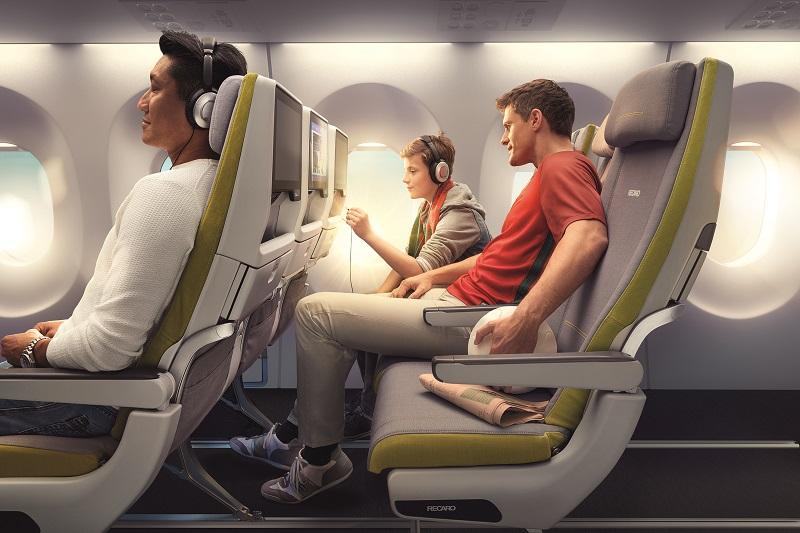 Korean Air Premia seating