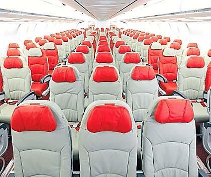 Economy Class cabin  Picture: AirAsia