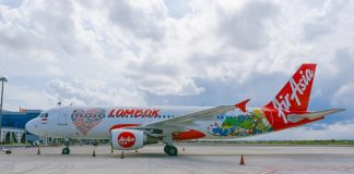 AirAsia Lombok Perth